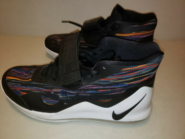 NIKE AIR FORCE MAX '19 Sneakers WhiteBlackMulti Size 13 Mens Basketball Shoes