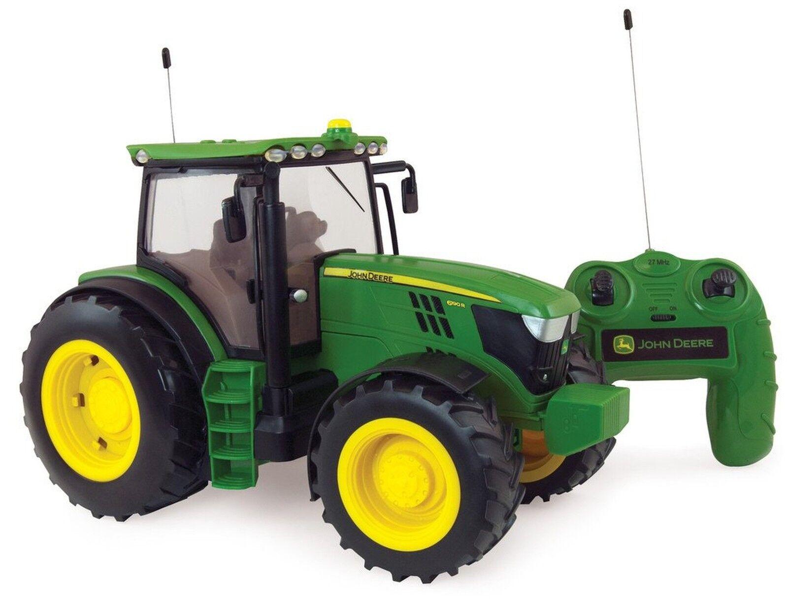 Britains Granja Grande 42838 escala 1 16 John Deere 6190R Tractor controlados por radio