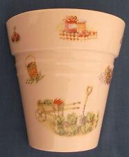 AYNSLEY Periodo edoardiano orti Cina Vaso Muro Pocket Made in England