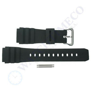 Black-22mm-Watch-Band-Strap-for-Luminox-Colormark-Navy-Seal-3000-3050-3080-3900
