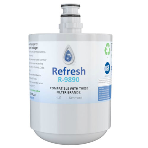 by Refresh Replacement For LG LFX25973D Refrigerator Water Filter