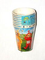 Vintage Teletubbies 8-paper Cups Hot-cold 9oz. Party Supplies
