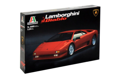 Lamborghini Diablo Kit Italeri 1:24 IT3685 Modellbau