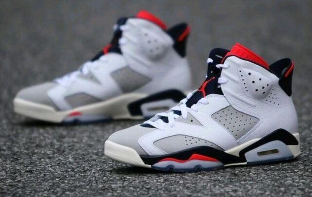 sports shoes 3716c 72233 Nike Air Jordan VI 6 Retro Tinker Sz UK 11 EU 46 US 12 384664-104