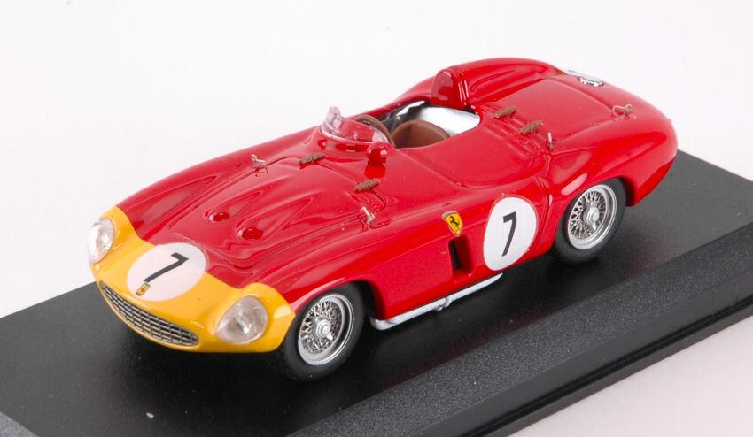 Ferrari 857 S  7 5th 1000 Km Paris 1956 A. De Portago   P. Hill 1 43 Model
