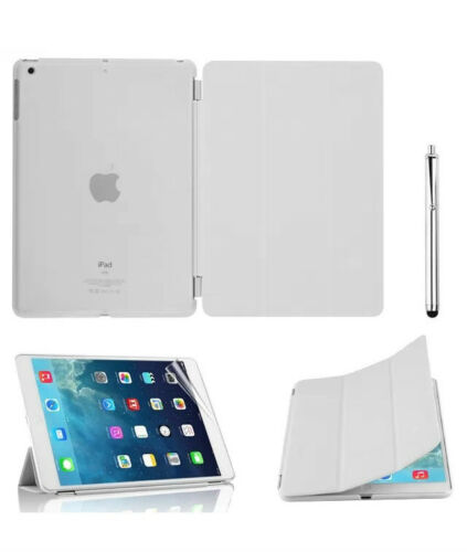 Ultra thin magnetic leather 2 piece smart case cover stand Apple iPad mini1 2 3