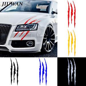 Auto-Car-Sticker-Reflective-Monster-Scratch-Stripe-Claw-Marks-Headlight-Decal