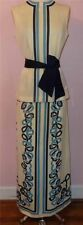Gorg Vtg 70s MR DINO Retro Psychedelic Mod Print 2 Piece Top Maxi Skirt 10 M L