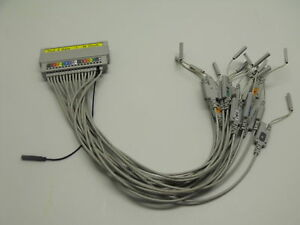 AGILENT / HP Pod 4 Data + M Clock Logic Analyzer test Cable Assembly