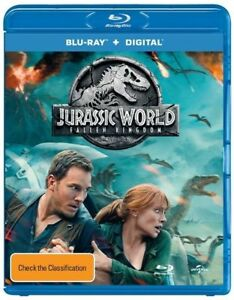 Jurassic World - Fallen Kingdom (Blu-ray, 2018)