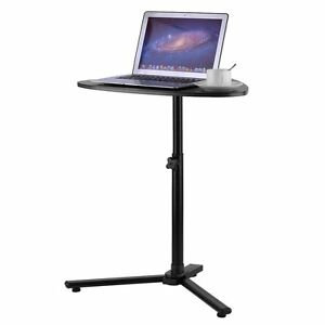 Perfect Image Is Loading Angle Height Adjustable Rolling Laptop Notebook Desk Over