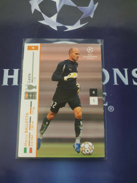 Panini Champions League 2007/2008 - Nr.16 Marco Ballotta - Trading Card 07 08
