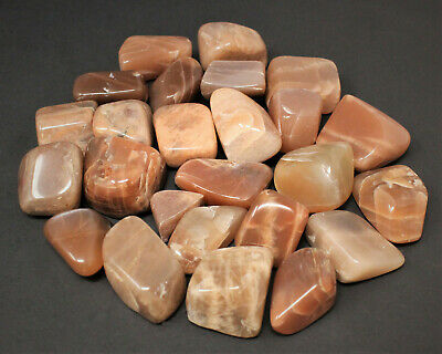 Peach Stones Approx 1 12 Supply for Crystal Grid or Crafts BIN-0227 Raw Peach Moonstone One Crystal