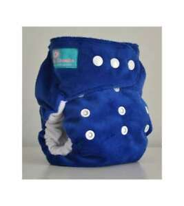 BumCheeks Reusable Cloth Nappy One Size Fits All Baby Blue