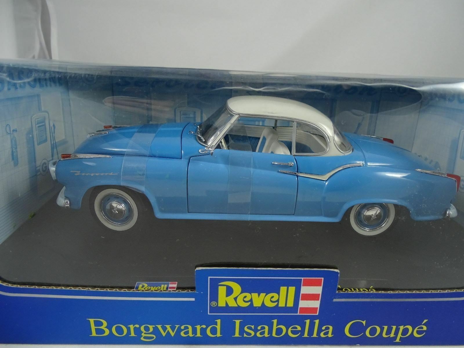 1 18 Revell  08859 BORGWARD ISABELLA COUPE LIGHT blueeE-NEW OVP