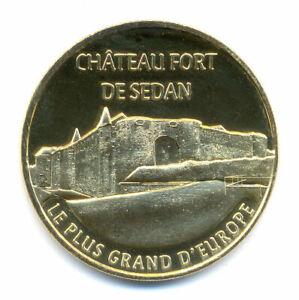08 SEDAN Château fort, Le plus grand d'Europe, 2021, Monnaie de Paris