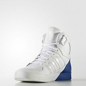 big sale 6c68e 056b5 Adidas Women s Originals Zestra High Top Trainers White Collegiate Royal  Blue - mainstreetblytheville.org