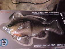 "Savage Gear 5"" 3D Bluegill Slow Sinking BSS-125-DG Dark GILL for Bass"