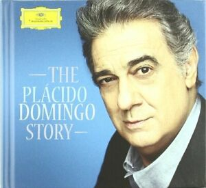 Very-Good-PLACIDO-DOMINGO-Placido-Domingo-Story-3-CD-Plus-152-Page-Book-w-R