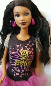 Barbie-So-In-Style-Trichelle-doll-only
