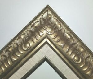 3-034-Antique-Silver-Leaf-Ornate-photo-Oil-Painting-Wood-Picture-Frame-8055SL