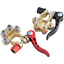 thumbnail 3 - 2x Car Battery Quick Release Clamp Joint Battery Pile Head Brass Clamp Terminal