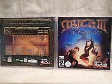 Myth III: The Wolf Age (Apple Macintosh Mac OS X) Jewel case, game & manual Rare