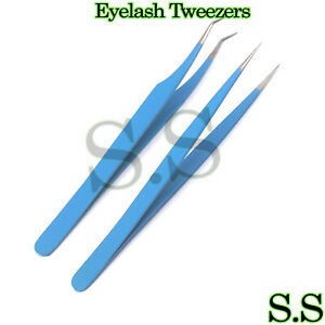 Tweezers-Straight-Curved-For-Individual-Eyelash-Extensions-Colored