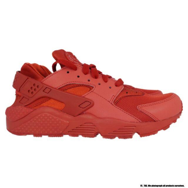 Size 14 - Nike Air Huarache Triple Red 2015
