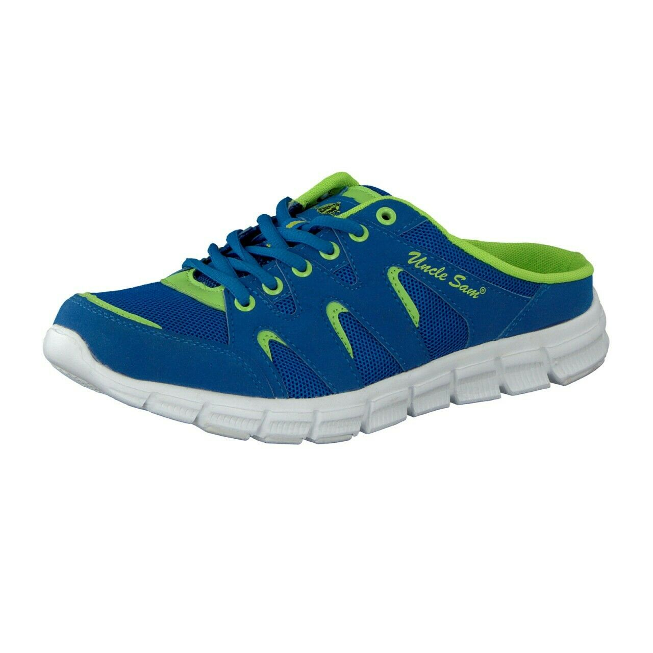 Uncle Sam Men's Sneakers Fashion Sabot in Light bluee
