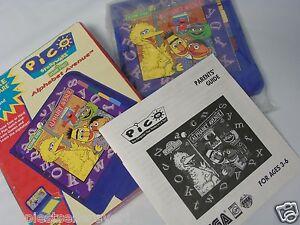 Details about Complete SEGA Pico Sesame Street Alphabet Avenue Pico Video  Game System