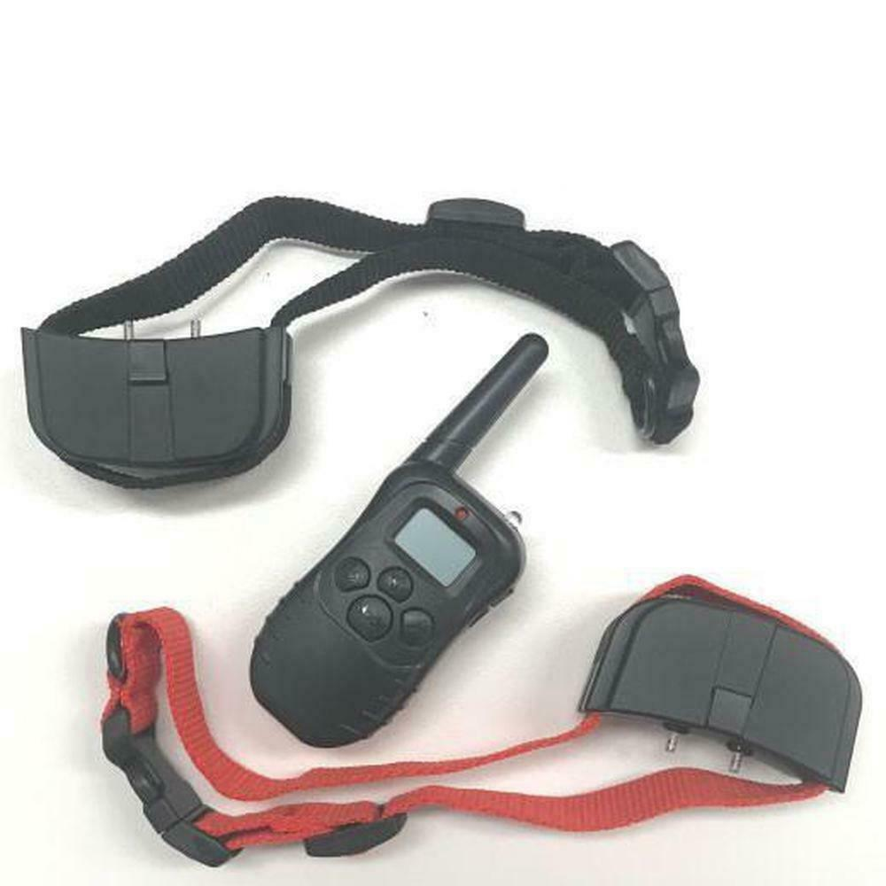 Stop Barking Training Dog Collars   2 in 1 Rechargeable Vibration Sound Remote