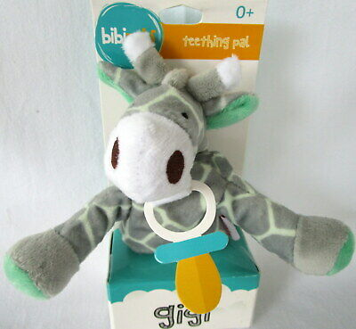 "Baby's Teething Pal ""gigi The Giraffe"" Cute Baby Shower Gift! Suitable For 0+ Bn"