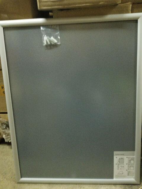 Case of 10 MT Displays Mitered Corner Snap Picture Frame 22 x 28 Silver