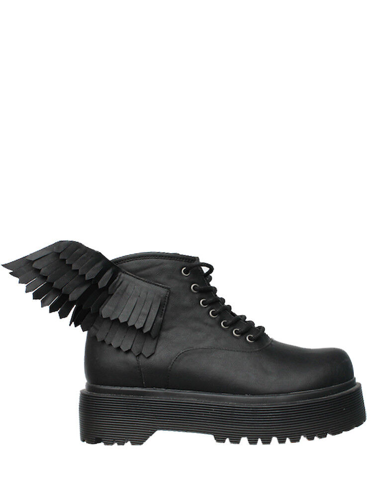 Juventud YRU suba slayr Slayer Angyl alas Ángeles Negro Para mujeres Zapatos Tenis