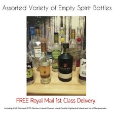 Used Empty Spirit Bottles Assorted Varieties + FREE 1st Class Delivery