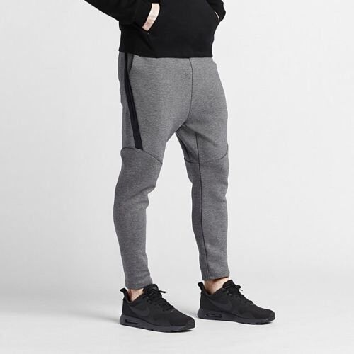 nike tech fleece obsidian grey carbon heather men 39 s. Black Bedroom Furniture Sets. Home Design Ideas