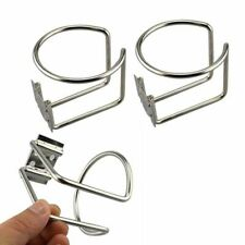 2 Stainless Steel Boat Ring Cup Drink Holder For Marine Yacht Truck world cup