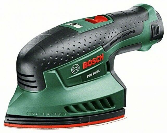 Bosch Home and Garden PSM 10,8 LI Akku-Multischleifer Easy (10,8 V, 1,3 Ah)