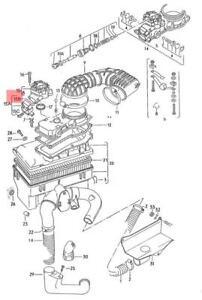 genuine vw seal ring nos audi vw 100 avant quattro 4000 5000 80 90 rh ebay co uk 1994 Audi S4 Green Audi 100 1994