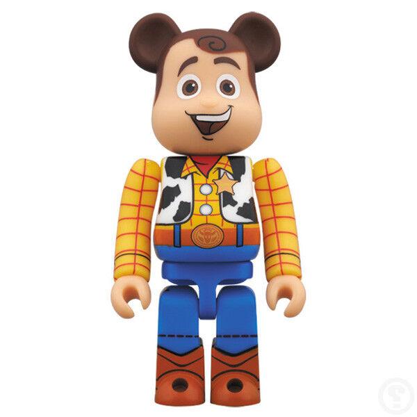 Medicom Be@rbrick 400% Toy Story Woody Bearbrick     SCARCE TOYS 861