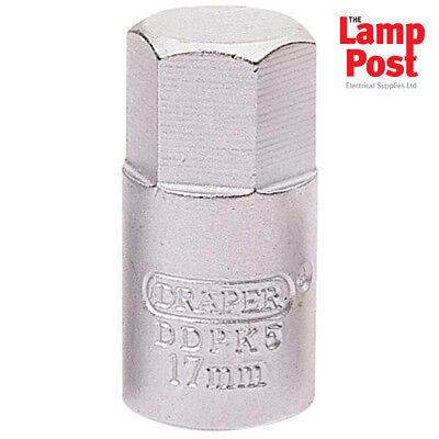 Expert 1//2 Square Drive Drain Plug Key For Vw Or Audi Draper 63476