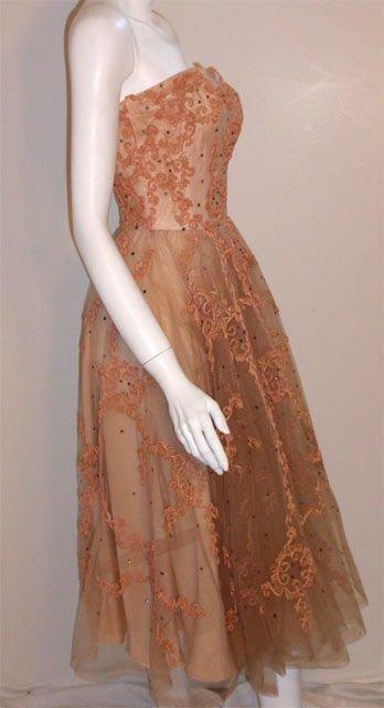 CEIL CHAPMAN 1960s Vintage Cocktail Dress - image 3