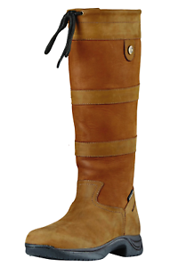 Dublin River Boots III - NEW STYLE - Waterproof Membrane - Tan
