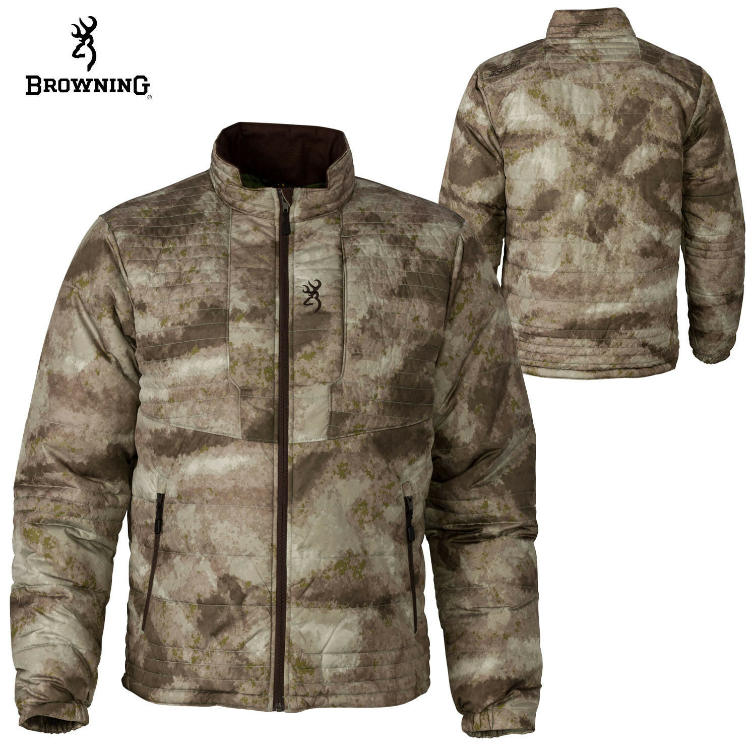 Browning  Hell's Canyon Speed Shrike Jkt (3X)- ATACS AU  60% off