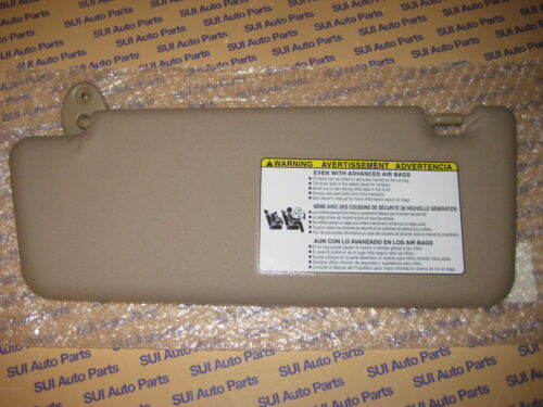 Toyota Tacoma Drivers Side LH Sun Visor Tan Vinyl  NEW Genuine OEM 2005-2014