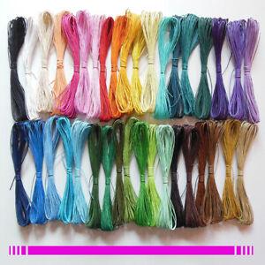 10m-Coton-cire-fil-cordon-1mm-bracelet-perle-shamballa-tibetain-39-couleurs