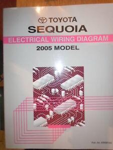 2005 toyota sequoia service schedule