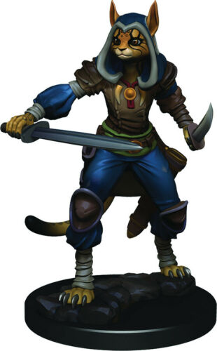 Dungeons /& Dragons Icons of the Realms Figures W3 Female Tabaxi Rogue