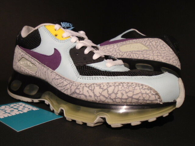 06 NIKE AIR MAX 90 360 ONE TIME ONLY FOOTPATROL HYBRID SKYLIGHT blueE PURPLE 6.5